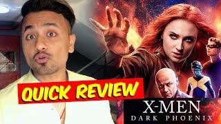 X-Men Dark Phoenix | QUICK REVIEW | James McAvoy, Sophie Turner