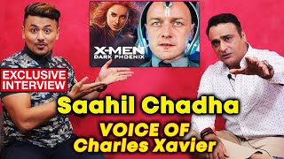 X-Men: Dark Phoenix | VOICE Of Charles Xavier Saahil Chadha EXCLUSIVE Interview | Hindi Dubbed