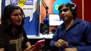 Female Singer Pallavi Joshi In Big FM Radio - Kajri - Sejiya Pe Naache Naag Ho