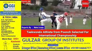 Taekwondo Athlete from Poonch Selected For International Championship