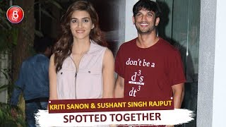 Exes Kriti Sanon & Sushant Singh Rajput Spotted Together At Sunny Super Sound