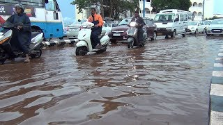 Panjim, Mapusa Almost Flooded During The First Pre Monsoon Showers