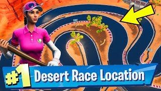 Complete a Lap of a Desert Race Track Fortnite Week 5 Challenges Guide - Fortnite Battle Royale