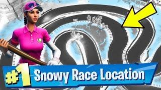 Complete a Lap of a Snowy Race Track Fortnite Week 5 Challenges Guide - Fortnite Battle Royale