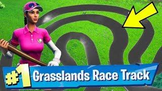 Complete a Lap of a Grasslands Race Track Fortnite Week 5 Challenges Guide - Fortnite Battle Royale