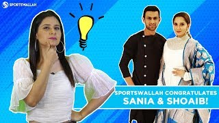 Sportswallah Congratulates Sania And Shoaib!
