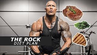 Hollywood Superstar Dwayne The Rock Johnson's Insane Diet Plan