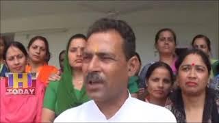 7 JUNE N 10  Aanganwadi and Asha workers workers meeting at the rest house Noorpur