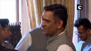ICC WC 2019: Team India meets India's High Commissioner to UK in London