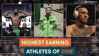 Highest Earning Athletes Of 2018!