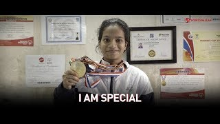 An inspirational story of special athlete Akansha Mhatre
