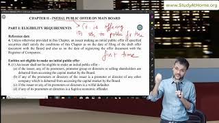 SEBI ICDR Regulations 2018 by Amit Bachhawat