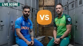 India vs South Africa Live Score, ICC Cricket World Cup 2019 Match at Southampton