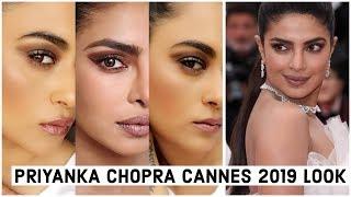 Priyanka Chopra Cannes 2019 Makeup Look Tutorial