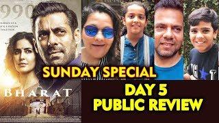 BHARAT PUBLIC REVIEW   DAY 5   Salman Khan Katrina Kaif, Sunil Grover