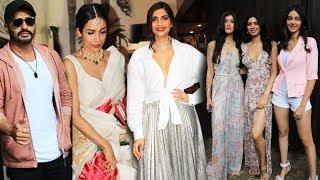 Sonam Kapoor Grand Birthday Celebration | Arjun Kapoor, Malaika Arora, Jhanvi Kapoor