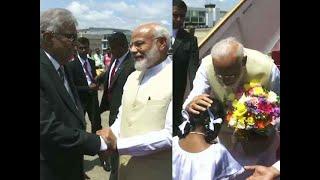 Watch: PM Narendra Modi arrives in Colombo