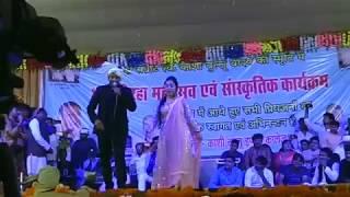 निरहुआ ने गाया । Gori Tori Chunari Ba Lal Lal Re । new live show। Dinesh Lal Yadav