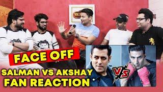 Salman Khan And Akshay Kumar Fans Reaction On Social Media FAN WAR | Awam Ki Awaz
