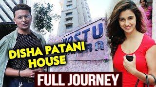 Disha Patani House Spotting In Mumbai | VASTU BANDRA | Full Journey | BHARAT Slow Motion Girl