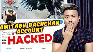 Amitabh Bachchan ACCOUNT HACKED Profile Bio Says 'Love Pakistan'