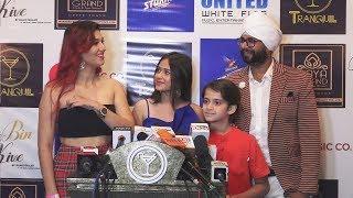 Jasleen Matharu At Jannat Zubair And Mr Faisu Tere Bin Kive' Song Launch