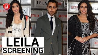 Imran Khan Huma Qureshi, Athiya Shetty Spotted At Netflix's 'Leila' Screening