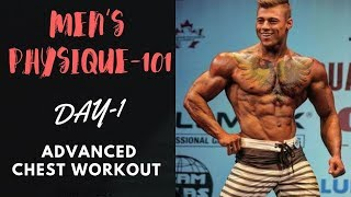 Men's Physique ADVANCED CHEST WORKOUT! Day-1 (Hindi / Punjabi)