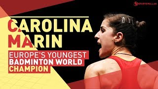 Badminton champ Carolina Marin's empowering story