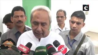 CM Naveen Patnaik meets PM Modi, congratulates him for victory