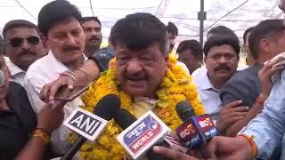 पश्चिम बंगाल में TMC के नेताओं के यहाँ है बम का जखीरा - कैलाश विजयवर्गीय |