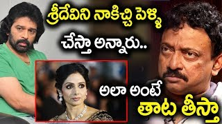 JD Chakravatnhy vs RGV on Sridevi marriage I #RGV I #Jdchakravarthy I rgv interview I rectv india