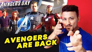 Avengers Day NEW Game Launched By Marvels | A-DAY | Iron Man Hulk Black Widow Thor, Captain America