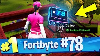 FORTBYTE #78 Found In A Ranger Tower Overlooking A Drained Lake Location Fortnite
