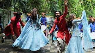 Udhal Ho Song Launch | Malaal | Sharmin Segal & Meezaan Jaffrey Crazy Dance On Dhol | Bhansali Film
