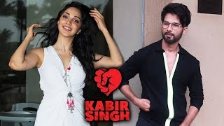 Shahid Kapoor And Kiara Advani Promoting Their Movie KABIR SINGH At Juhu