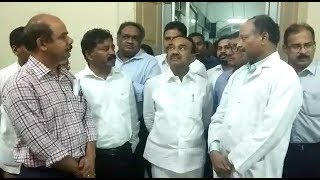 Health Minister Etala Rajendar At Osmania Hospital | SUrvey At Osmania Hospital |
