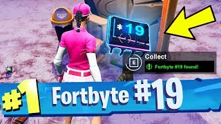 FORTBYTE #19 Accessible With The Vega Outfit Inside A Spaceship Building Location Fortnite
