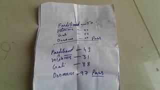 20 Nov 2018 ko 53 desawer me pass pass pass