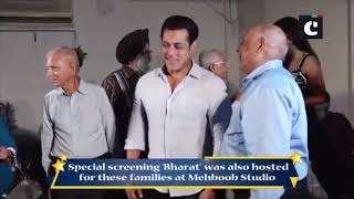 Salman Khan, Katrina Kaif meet families who experienced events of 1947 partition