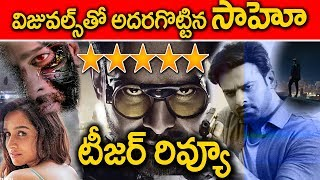 sahoo teaser review I prabhas I shraddha kapoor I sujeeth I UV creations I rectv india