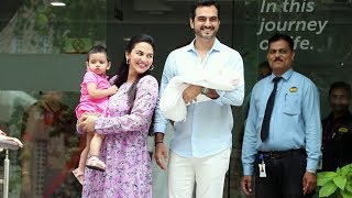 Esha Deol And Bharat Takhtani Take Baby Miraya Home
