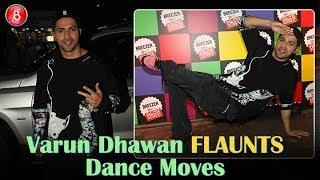 Varun Dhawan FLAUNTS Dance Moves At Breezer Launch