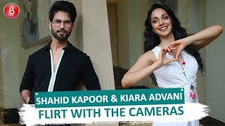 Shahid Kapoor & Kiara Advani FLIRT With The Cameras During 'Kabir Singh' Promotions
