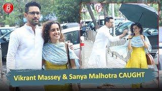 Vikrant Massey & Sanya Malhotra CAUGHT Outside Mukesh Chhabra's Office
