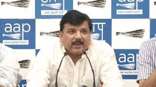 With Muslim Only Scholarship, BJP Continuing Appeasement Policy of Cong Party : Sanjay Singh