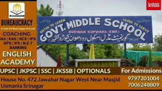 Building Of Government Middle School Dudwan Kupwara Incomplete From Last 12 Years