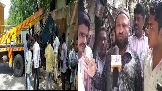 Poor Fruit vendors Shops Demolished By Ghmc In Syedabad | Appeal For Justice |