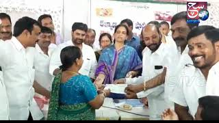 Shaadi Mubarak Cheques Distributed By Mla Sabita Indra Reddy | @ SACH NEWS |