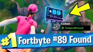 Fortbyte #89 Accessible by Flying the Scarlet Strike Glider through the Rings East Snobby Shores